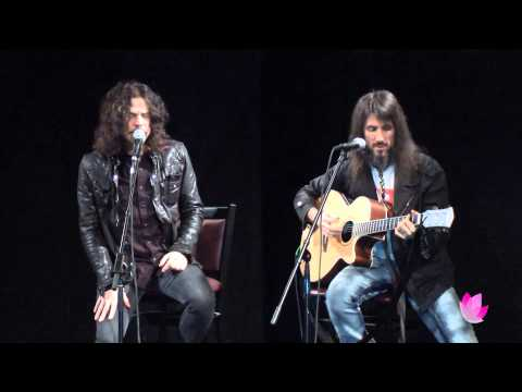 Tony Harnell and Bumblefoot perform  Child's Play (acoustic) 1.15.13