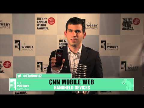 CNN Mobile Web's 5-Word Speech at the 17th Annual Webby Awards