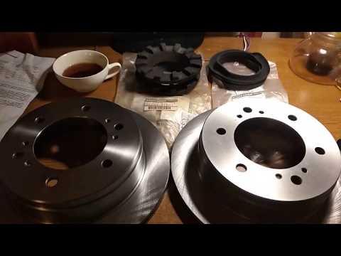 Nissan Terrano 1 WD21 VG30 тормозные диски задние проставки под пружины