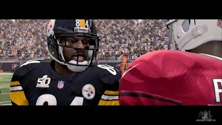 getlinkyoutube.com-Madden 16 Opening Gameplay - Steelers vs Cardinals Superbowl 50