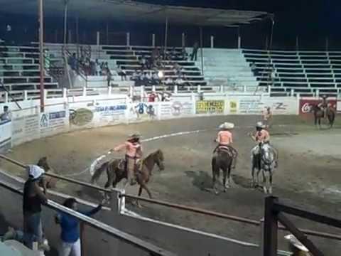 Mexican Rodeo Event, Charreada en Puerto Vallarta, Manganas