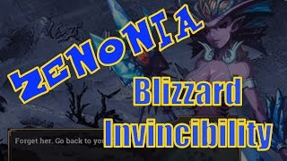 Zenonia S LVL 40 MAGICIAN BLIZZARD INVINCIBILITY Spell