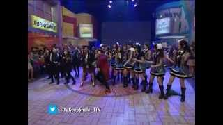 getlinkyoutube.com-YKS Soimah feat JKT48 Ngamen 5 [19.04.2014] Yuk Keep Smile Trans TV