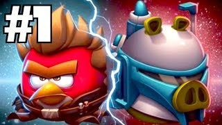 getlinkyoutube.com-Angry Birds Star Wars 2: RISE OF THE CLONES! Walkthrough Part 1 (iPhone Gameplay)