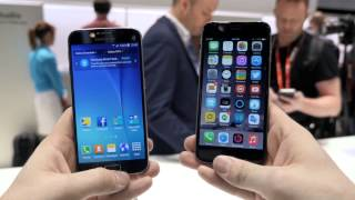 getlinkyoutube.com-Samsung Galaxy S6 против iPhone 6 - сравнение