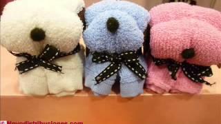 getlinkyoutube.com-Toallas con Formas de Perro