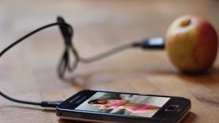 getlinkyoutube.com-Charging Phone with a fruit