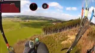 getlinkyoutube.com-GLeitschirm Crash aus 35m