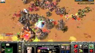 getlinkyoutube.com-Warcraft 3 The Frozen Throne - Bleach vs One Piece (LOL) 1/2
