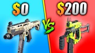 $0 vs $200 GUN - WHICH IS BETTER?