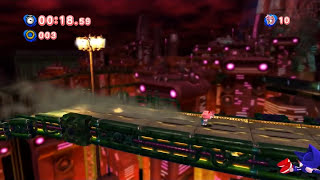 getlinkyoutube.com-Sonic Generations: Amy vs. Metal Sonic (Hard Mode)