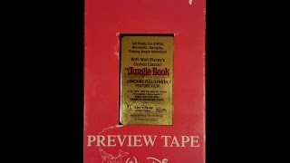 Opening To The Jungle Book 1991 VHS (Demo Tape)