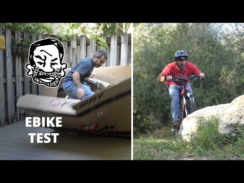 Epic E-Bike Unboxing & Test