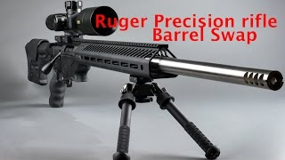 getlinkyoutube.com-Ruger Precision rifle barrel swap, setting the head space