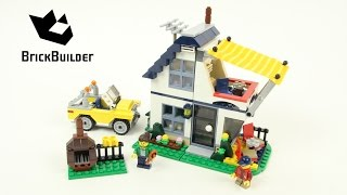 Lego Creator 31052 Perfect summer home - Lego Speed Build