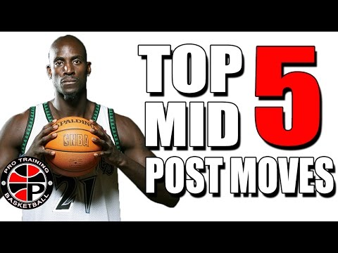 Top 5 Mid Post Moves | Dominate The Mid Post | Pro Training Basketball