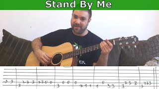 getlinkyoutube.com-Fingerstyle Tutorial: Stand By Me - w/ TAB (Guitar Lesson)
