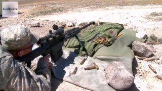 getlinkyoutube.com-Army National Guard Shooting .50 Cal and M110 Sniper Rifles
