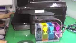 Manual de Instalação do Bulk Ink na HP 7610 / 7612 (A3) - Vendido pela SULINK
