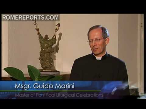 Guido Marini talks about how the pope dealt with rain showers of WYD 2011