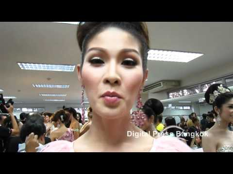 Miss Tiffany's Universe 2012 - Dressing Room Comments