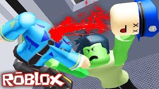 getlinkyoutube.com-ZOMBIE KILLINGS ON A TRAIN IN ROBLOX!?