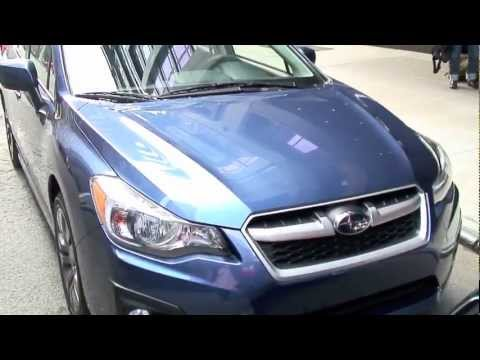 2012 Subaru Impreza Launch, On The Road