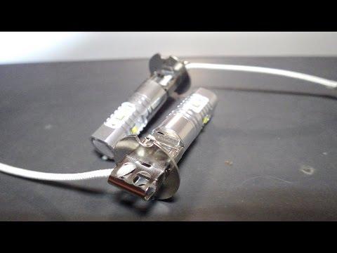 Светодиодные ДХО Daewoo Lanos - экономим топливо