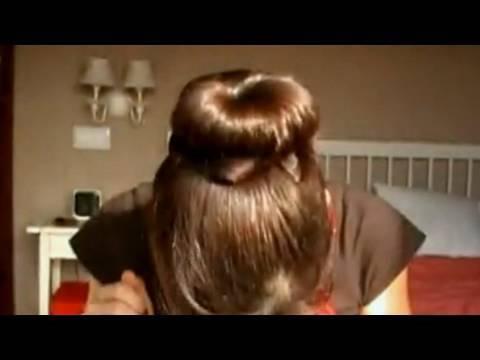 Peinados: moño de moda