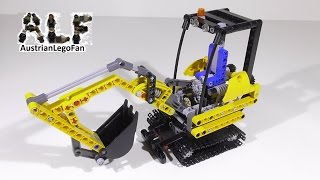 getlinkyoutube.com-Lego Technic 8047 Compact Excavator / Kompaktbagger - Lego Speed Build Review