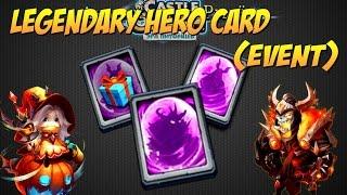 getlinkyoutube.com-Битва Замков, Акционные легендарные карты, Legendary Hero Card (Event), Castle Clash