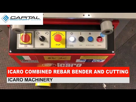 ICARO Combined Rebar Bender And Cutting Machine