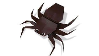 getlinkyoutube.com-Cách gấp, xếp con Nhện bằng giấy origami - Video hướng dẫn