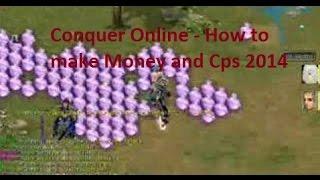 getlinkyoutube.com-Conquer Online - How to make Money and Cps 2014