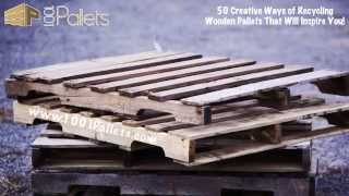 getlinkyoutube.com-50 Creative Ways of Recycling Wooden Pallets That Will Inspire You!