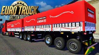 getlinkyoutube.com-Euro Truck Simulator 2 - Viagem de Bitrem