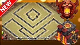 "getlinkyoutube.com-THE BEST TH10 WAR BASE!!! ""The Blast Shield"" | Popular Base | Clash Of Clans"