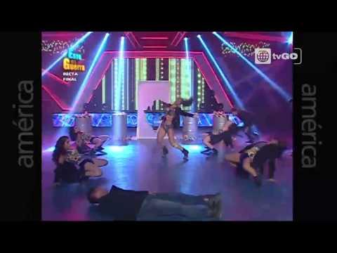 Espectacular duelo de baile entre Melissa Loza y Katty García - 11-03-2015 - Esto es guerra
