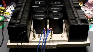 getlinkyoutube.com-Pioneer M22 Class A Amplifier Repaired and Restored