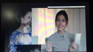 getlinkyoutube.com-Liza Soberano Star Magic Ball VTR 1
