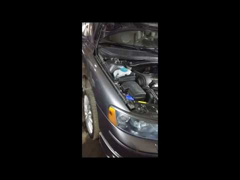 Замена подушек двигателя на Вольво S60