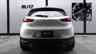 getlinkyoutube.com-BLITZ / NUR-SPEC VS DK5AW MAZDA CX-3 EXHAUST SOUND