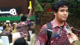 Video Detik-detik Jokowi Diberikan Kartu Kuning oleh Ketua BEM UI di Acara Dies Natalis
