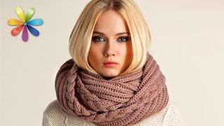 getlinkyoutube.com-Новый тренд осени 2015 — модный шарф-хомут! – Все буде добре. Выпуск 705 от 16.11.15