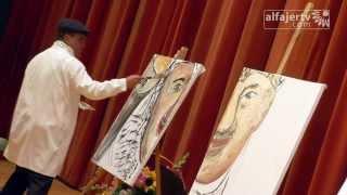 getlinkyoutube.com-فنان فلسطيني يبهر المجتمع الغربي في عشر دقائق