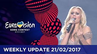 getlinkyoutube.com-Eurovision Song Contest Weekly Update 21/02/2017