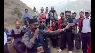getlinkyoutube.com-Funny Dance in Nepali Panche Baja