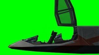 getlinkyoutube.com-Spaceship Cockpit open/close animation 3 - green screen