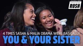 getlinkyoutube.com-4 Times Sasha & Malia Obama Were Basically You & Your Sister