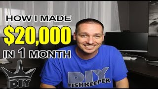 getlinkyoutube.com-How I made $20,000 in 1 month from breeding aquarium Discus fish